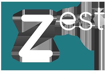 Logo de Zest Agency